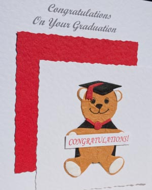 Graduation - Bear with banner