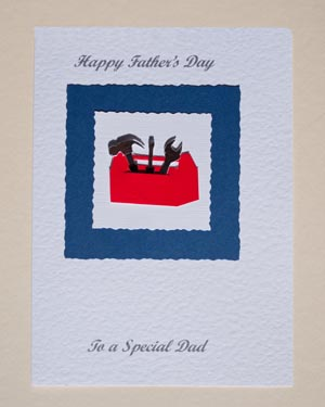 Toolbox Father's Day Card - JT Cards